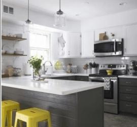 Кухня мечты 2016: применение цвета Nirvana и кварцита Caesarstone 1141
