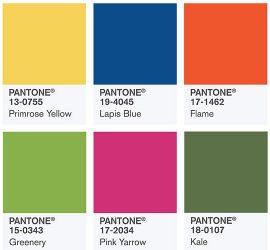 ТОП-10 модных оттенков 2017 года по мнению Института цвета Pantone