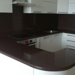 Столешницы | Изделия из камня | Столешница из темного кварцита | Коричневая столешница | Столешница для кухни
