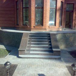 Лестница| Входная группа | гранит