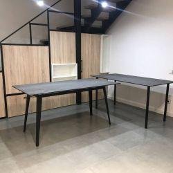 Столешницы для столов из кварцевых плит Laminam Cava Pietra di Savoia Antracite