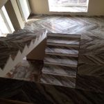 Лестница из мрамора | Входная группа | Мраморная лестница
