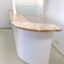 Барная стойка из мрамора | Изделия из искусственного и натурального камня | Барная стойка из камня