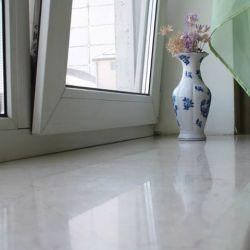 Подоконник из мрамора Crema Nova (Турция). Красиво, функционально и практично!