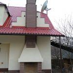 Облицовка камина Емельяновским гранитом