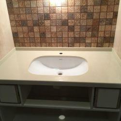 Столешница для ванной комнаты из кварцита BQ8430 Boticcino