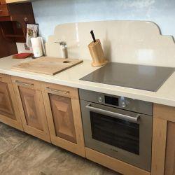 Столешница и фартук для кухни из кварцита Vicostone BQ8430 Boticcino