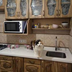 Столешница для деревянной кухни из кварцевого камня Atem White 1117