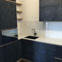 Кухонная столешница из кварцита Атем White 1117 (Украина)