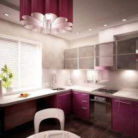 Кварцевая столешница для кухни в стиле Авангард