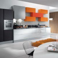 Интерьер кухни в стиле Авангард