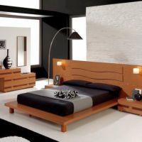 Оформление спальной комнаты в стиле Авангард