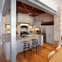 Мраморная столешница для кухни в стиле Лофт