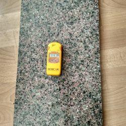 Радиоактивность гранита Васильевского месторождения