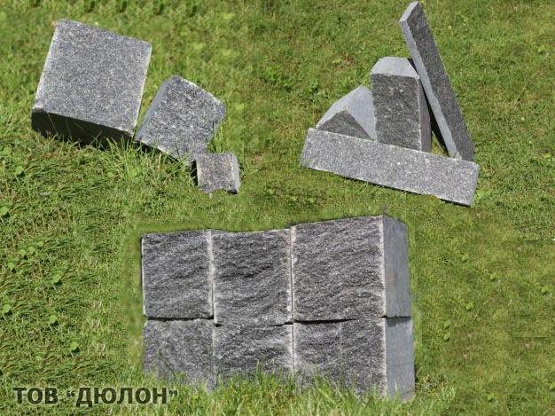 Гранитная брусчатка | Изделия из натурального и искуственного камня |брусчатка