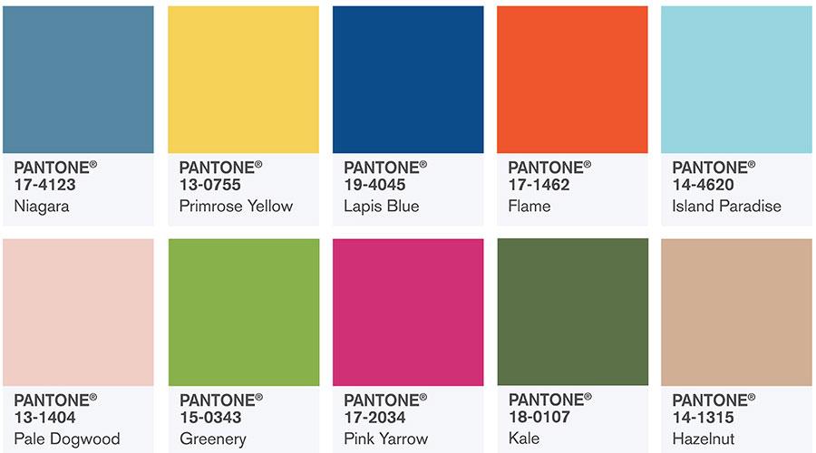 Топ 10 цветовых решений интерьера кухни в 2017 году.