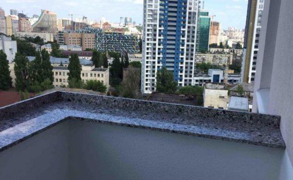Отливы на балкон из камня Atem Terra Black 0015
