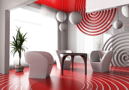 Стиль Авангард в дизайне интерьера