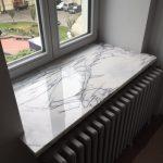 Подоконник из камня для гостиной или любой другой комнаты - это красиво, практично и не очень дорого!
