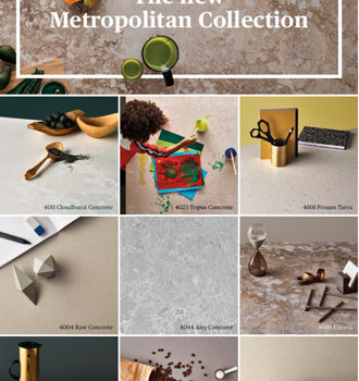 Caesarstone Metropolitan - новая коллекция кварцита от всемирноизвестного израильского бренда