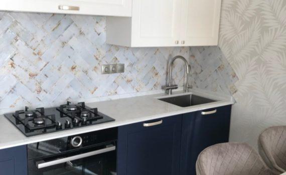 Столешница как украшение кухонного интерьера